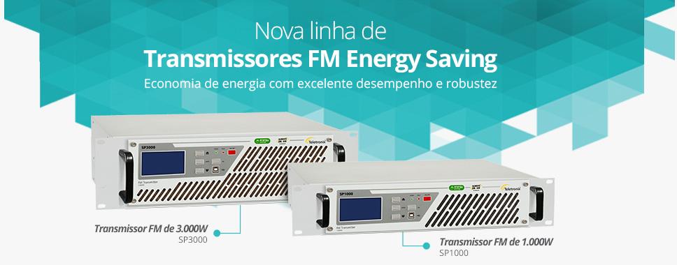 Nova linha de Transmissores FM Energy Saving da Teletronix